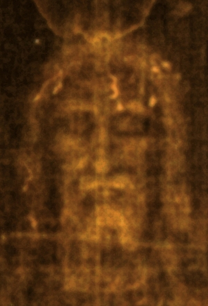 Face on the Shroud of Turin
