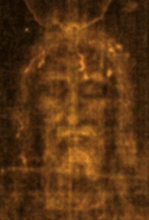 Face on the Shroud of Turin